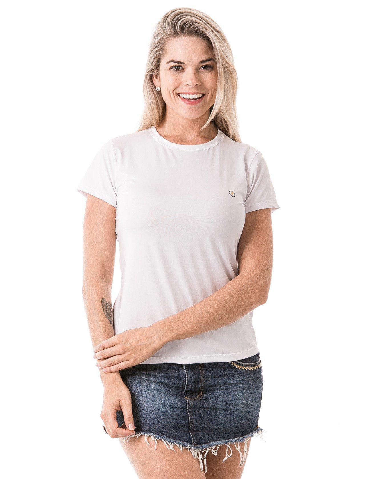 feminia t shirt curta ice branca frente b