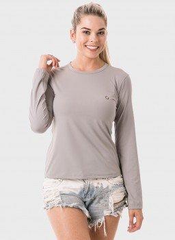 feminia t shirt longa ice cinza frente 2 c