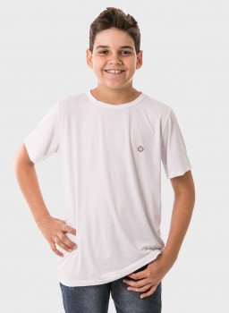 infantil masculinas t shirt curta ice branco frente 2 c
