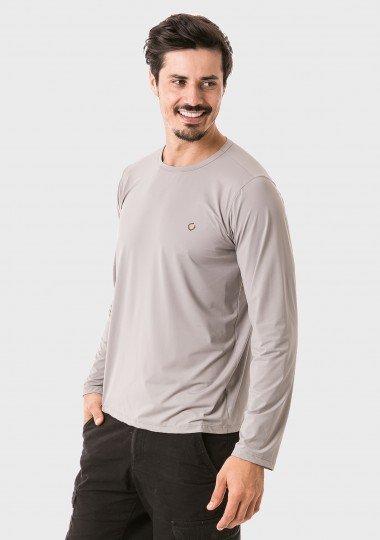 masculina t shirt longa ice cinza lateral c