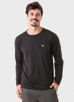 masculina t shirt longa ice preta frente c