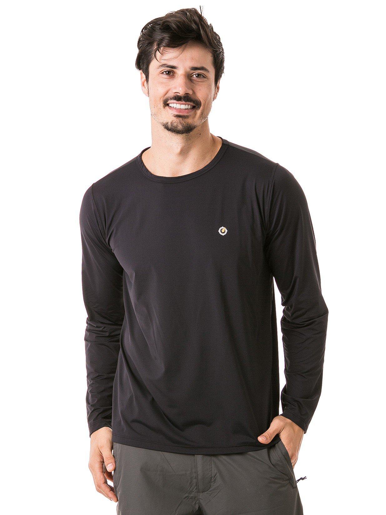 masculina t shirt longa ice preta frente b