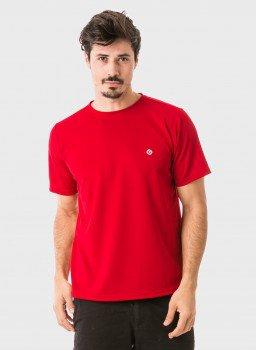 masculina t shirt curta dry vermelha frente 2 c