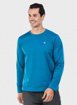 masculina t shirt thermo azul c
