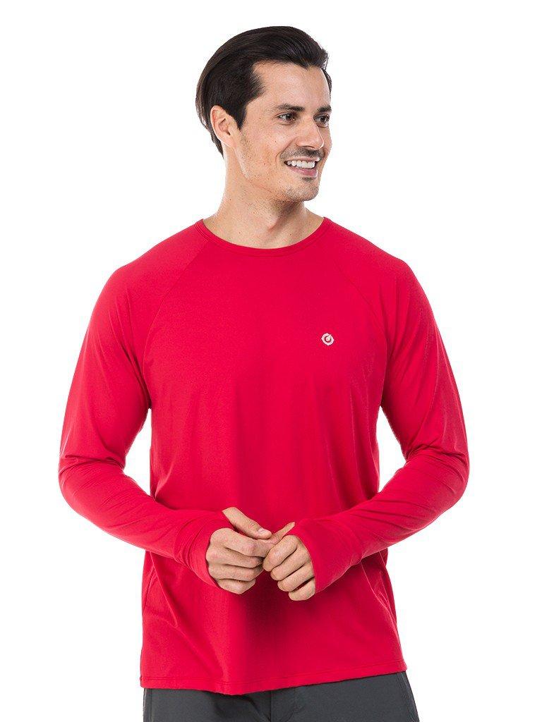 camisa masculina raglan