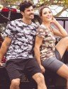 camisa camuflada masculina manga curta protecao solar extreme uv urbana produto