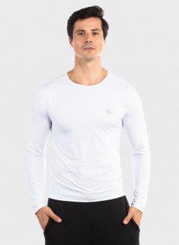 camisa segunda pele ice com protecao solar extreme uv masculina frente c