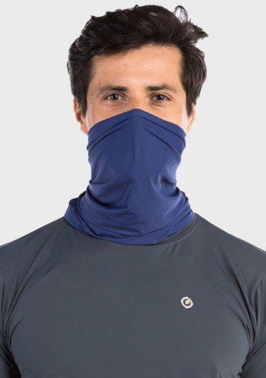 bandana tube neck mascara com protecao solar masculina extreme uv azul frente c 2