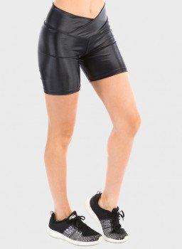 bermuda uv preta com protecao solar feminina extreme uv gloss frente c
