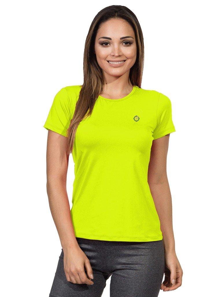 feminina basic extreme uv amarelo fluor