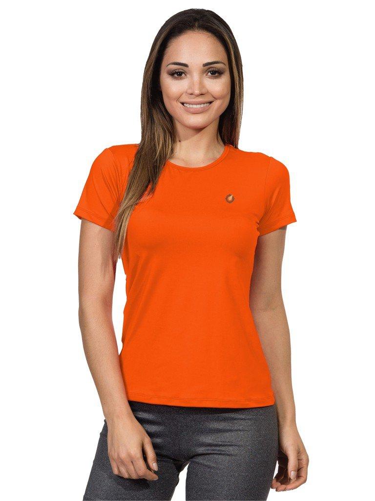 feminina basic extreme uv fluor laranja