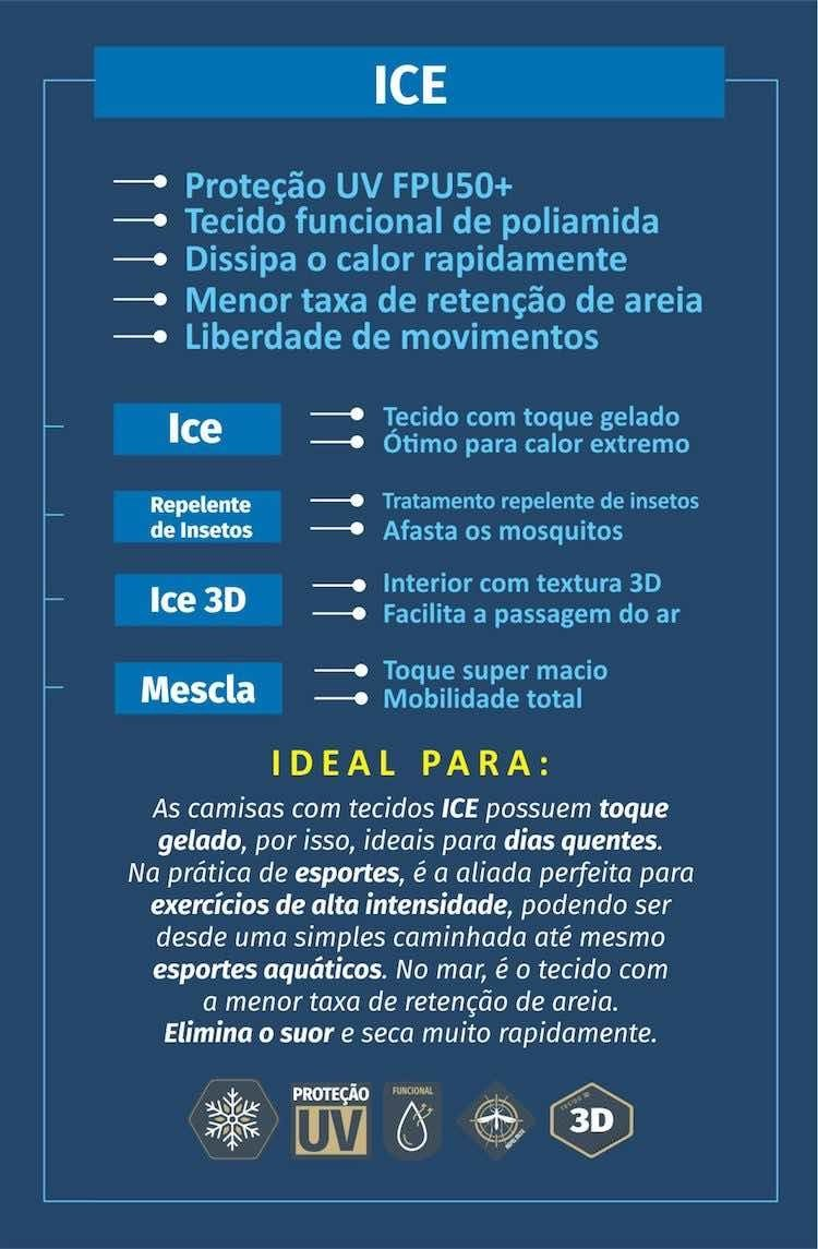 tecido ice