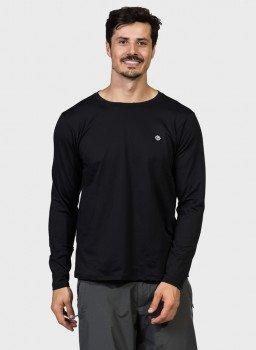 camisa termica masculina com protecao solar extreme uv frente preto c