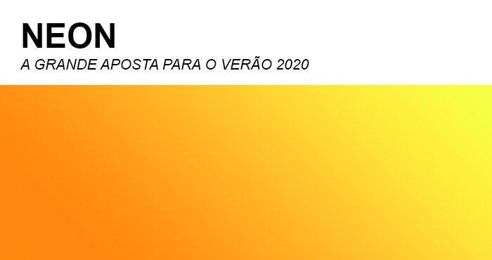 Tons Neon são a aposta para o verão 2020