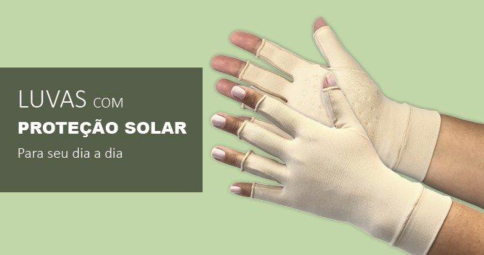 Luvas com Proteção Solar para seu dia a dia