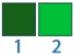 escala indice uv 1 e 2