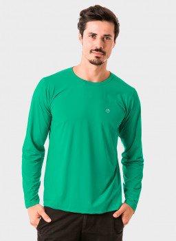 masculina t shirt longa nd verde agua frente c