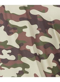 tube neck camuflada militar