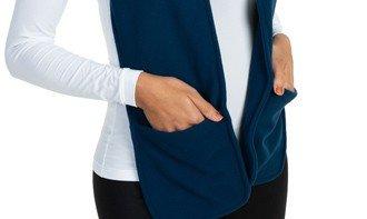 cachecol feminino fleece com bolso extreme uv quadro 1