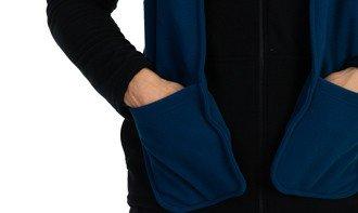 cachecol fleece com bolso masculino extreme uv azul quadro 2