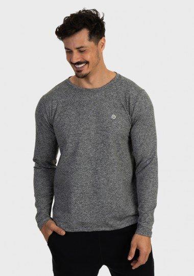 camisa termica masculina mescla com protecao solar extreme uv mescla lateral c
