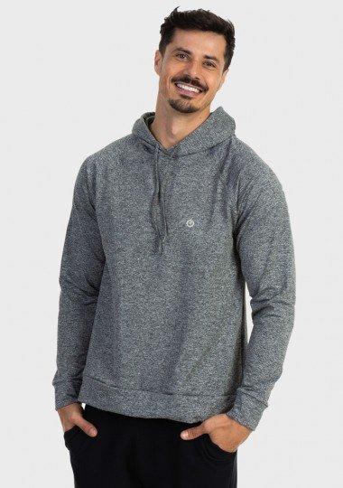 camisa uv termica mescla para frio com capuz masculina extreme uv mescla frente c