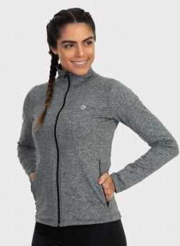 jaqueta termica para frio com bolso feminina extreme uv mescla frente c
