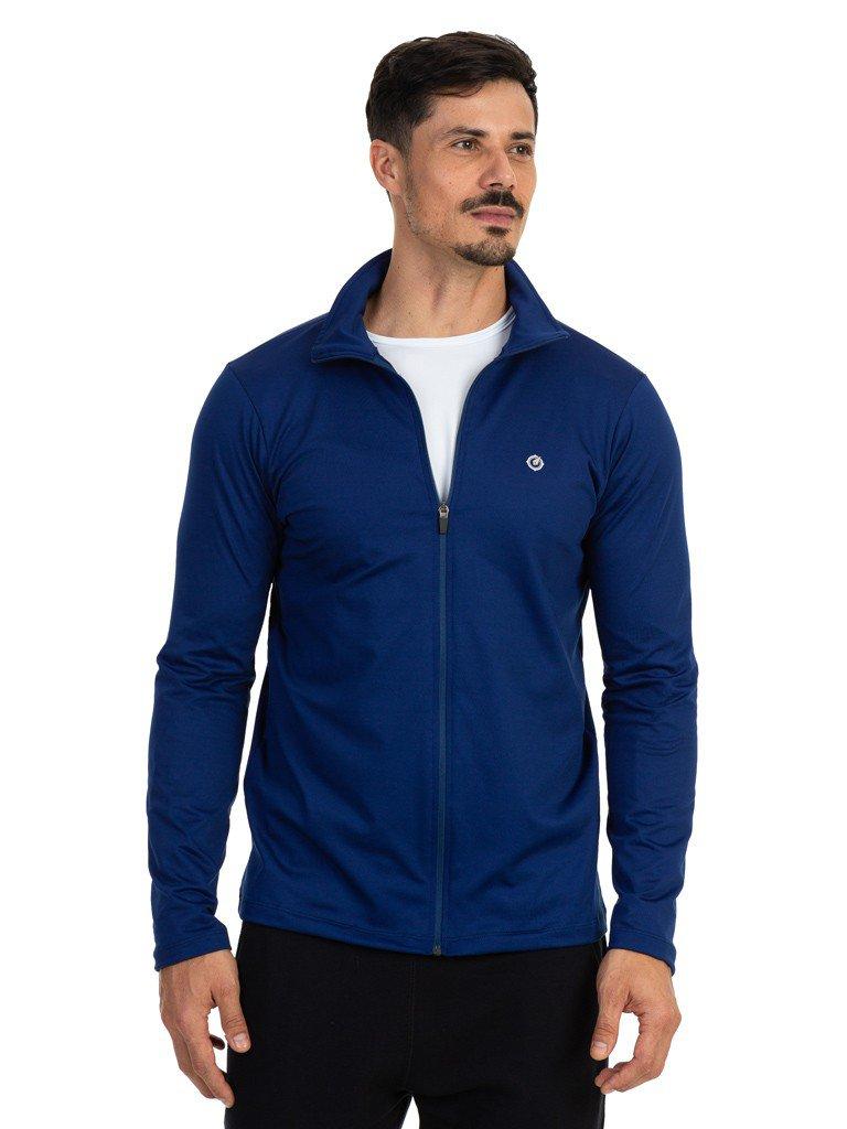 jaqueta termica para frio masculina extreme uv azul frente b