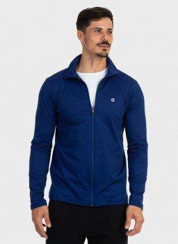 jaqueta termica para frio masculina extreme uv azul frente c