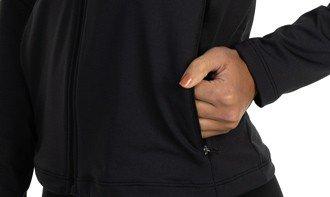 detalhe jaqueta feminina termica