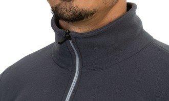 detalhe do casaco soft extra macio masculino