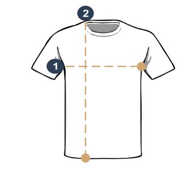 imagem camisa manga curta
