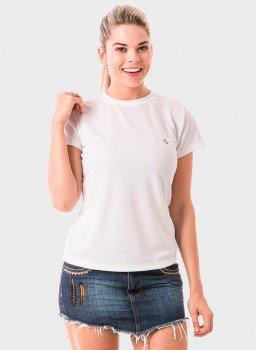 camiseta uv algodao egipcio premium protecao solar manga curta feminina extreme uv frente c