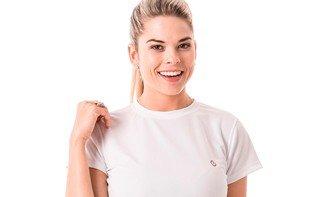 detalhe camieta feminina algodão extreme uv