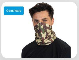 Tube Neck Camuflado Militar