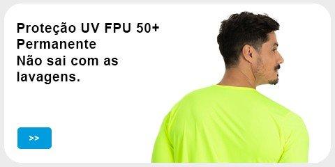 Proteção UV FPU50+ Permanente, não sai as lavagens
