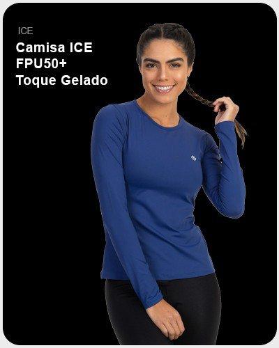 Camisa ICE FPU50+ Toque Gelado