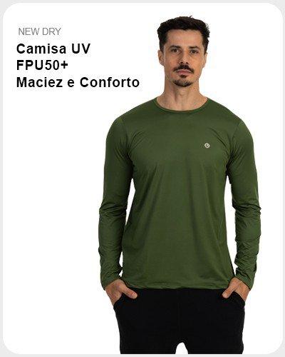 Camisa UV FPU50+ Maciez e Conforto
